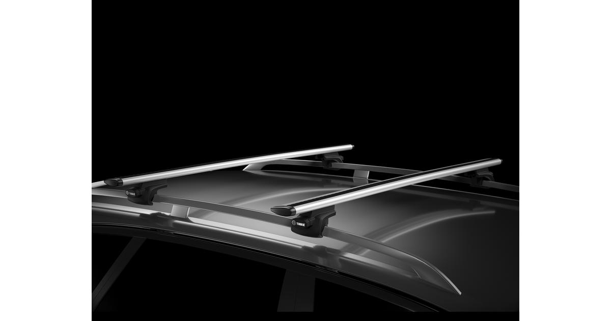 thule rapid system 757 aluminiowe belki wingbar 961. Black Bedroom Furniture Sets. Home Design Ideas